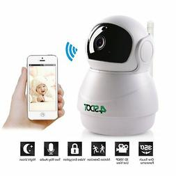 Wireless IP camera Nanny cam 1080P baby monitor Home WIFI se