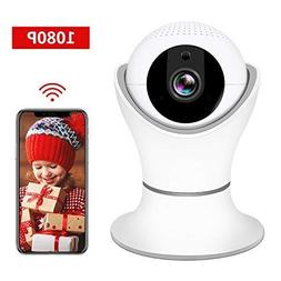 HD 1080P Wireless IP Camera, WiFi Home Security Surveillance