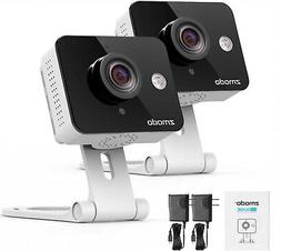 Wireless Security Cameras Two Way Audio 720P HD WiFi Google
