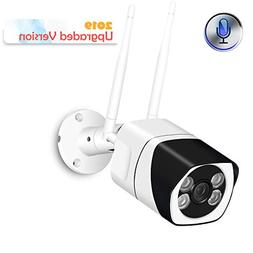 Outdoor WiFi Security Camera, 1080P Wireless IP Camera Two-W
