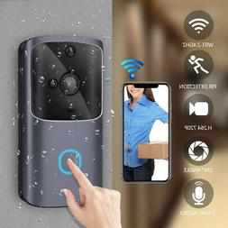Wireless WiFi Video Doorbell Smart Door  Intercom Security 7