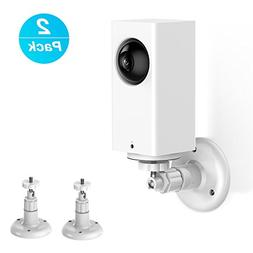 Wyze Cam Pan Wall Mount, Adjustable Indoor 360 Degree Swivel