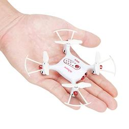 Syma X20 RC Drone Mini Pocket Drone LED RC Quadcopter Micro